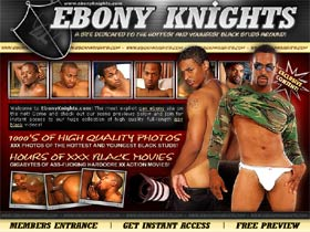 Ebony Knights - A Site Dedicated to The Hottest and Youngest Black Studs Around!