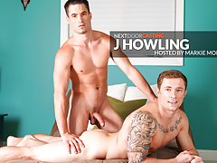 Buddies Audition: J Howling mature gay