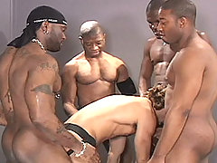 Gay Bareback Jeff, Flex, Adonis, Reese and Kam