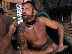 Elio Guzman, Michael Selvaggio & Sergio Mutty mature gay
