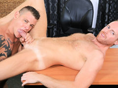 My Boss Has a Huge Cock! mature gay