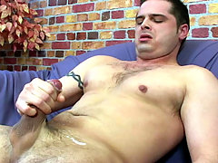 Enjoy watching Nick as he strokes himself to a thick orgasm!