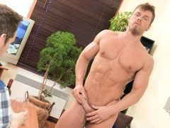 Long time since I've played with my tricked cards... This time, my bait is young bodybuilder Brad. One of the sexiest model on Maskurbate is back mature gay