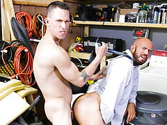The Janitor's Closet mature gay