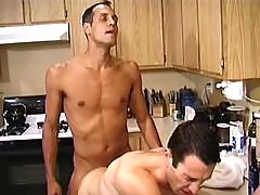 Cock hungry gays slobber each other