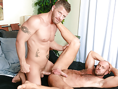 Matt's guttural moans show how that guy loves every inch of Jeremy mature gay