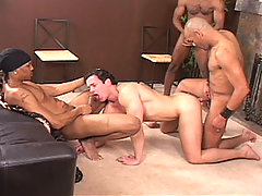 Gay Bareback Carlos Morales, Gut Banga, Doc Holiday, Mark & Ty