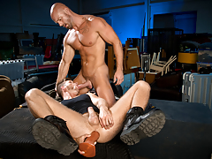 Guard Patrol, Scene 02 mature gay