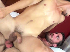 Elliott & Corbin BAREBACK mature gay