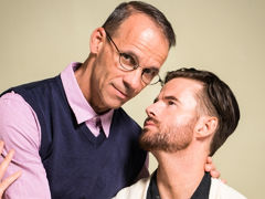 After his wife catches him jerking off to twink porn, Brendan Patrick visits his therapist, Rodney Steele. Brendan is ashamed and afraid his life is over. To help him attain to the root of his troubles, Rodney asks a series of questions. Their discussion  mature gay