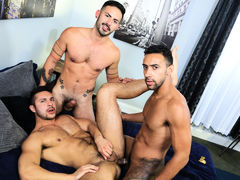 Surprise Big Dick Threeway mature gay